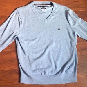 Tommy Hilfiger V-Neck Sweater (Size Medium)